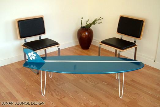 Surf Board Coffee Table
