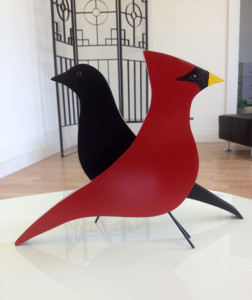 BLACK YARD BIRD CARDINAL